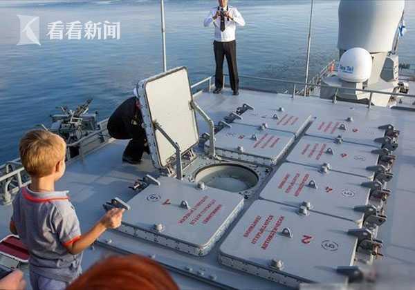 俄罗斯舰载垂直发射系统(图片来自网络 鸣谢作者)