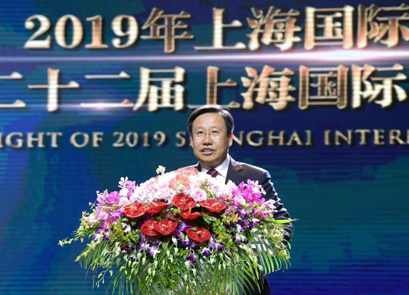 王晓晖宣布第22届上海国际电影节开幕