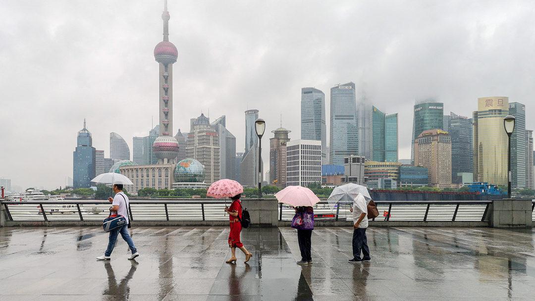 上海今日入梅 夜间将有大到暴雨