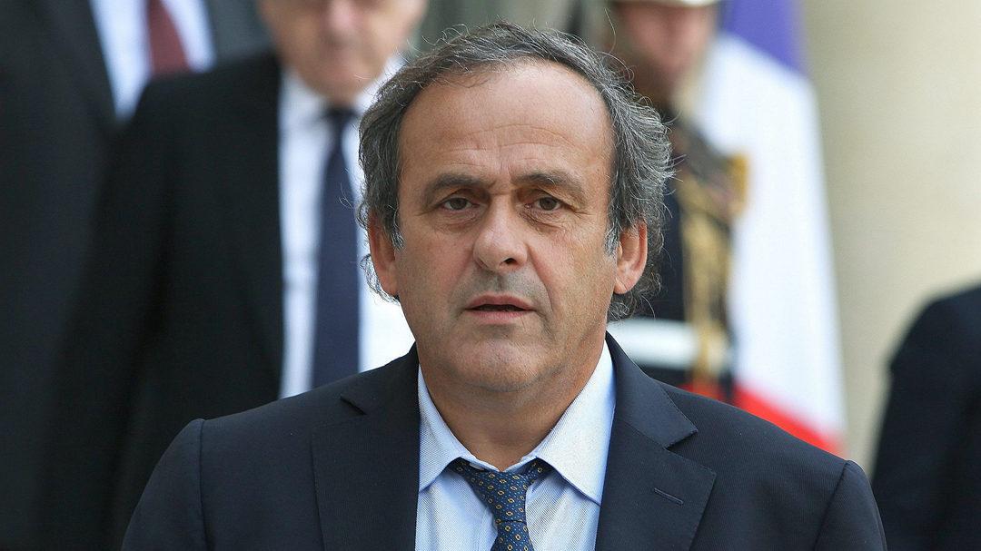 前欧足联主席普拉蒂尼被法国警方逮捕
