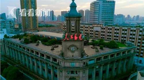 上海邮政大楼:是我国目前仍在使用的建筑最早、规模最大的邮政标志性建筑。