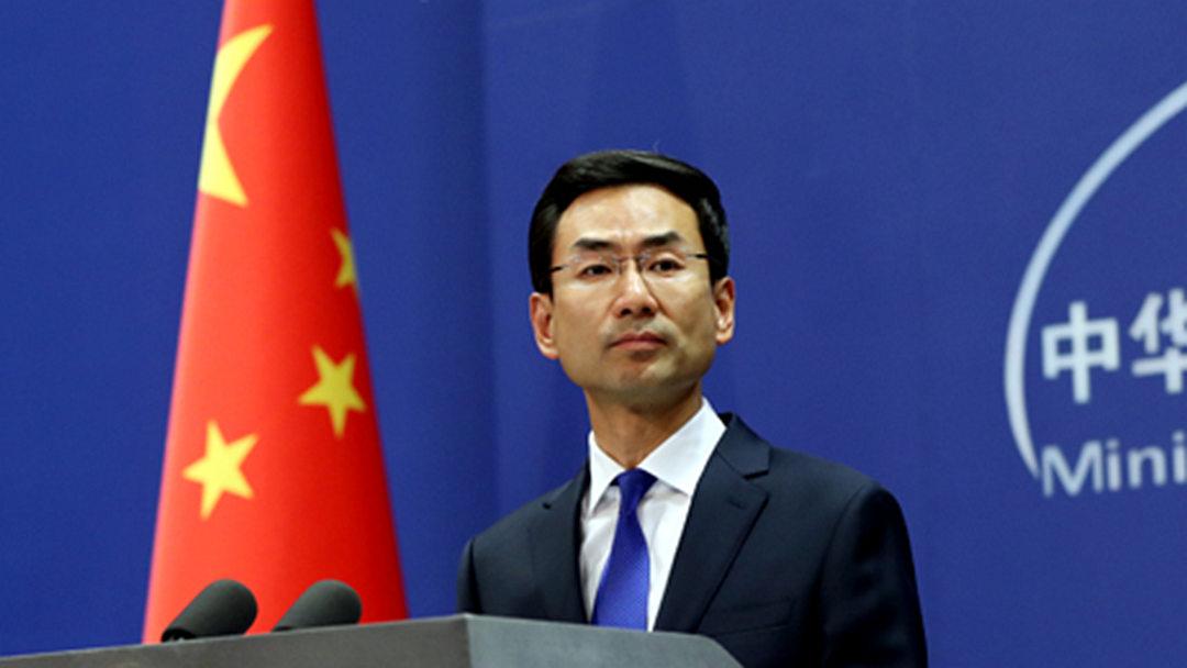 外交部:中国人不信邪、不怕压 从来不吃这一套