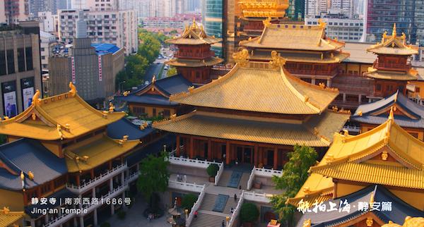 静安寺:千年古刹,相传其历史最早可追溯至三国时期,静安区因其得名。