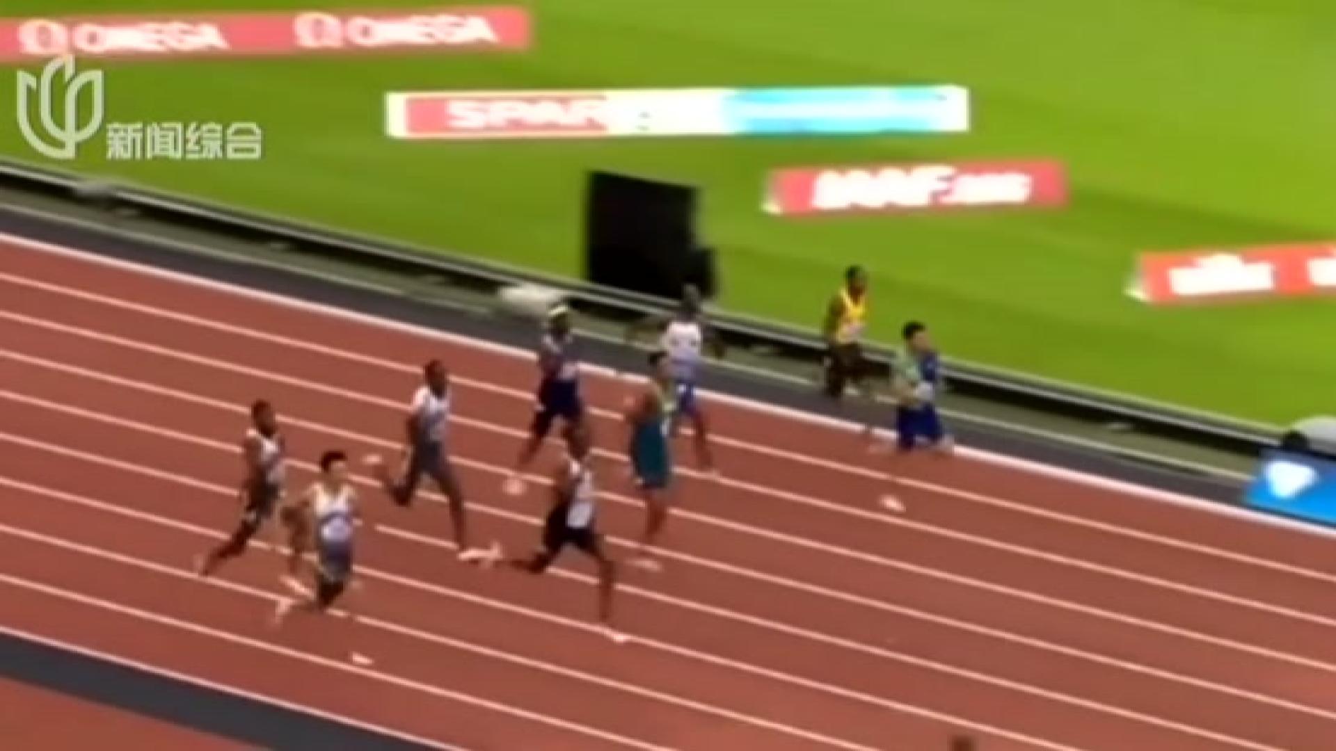 19秒88!  谢震业破男子200米亚洲纪录夺冠