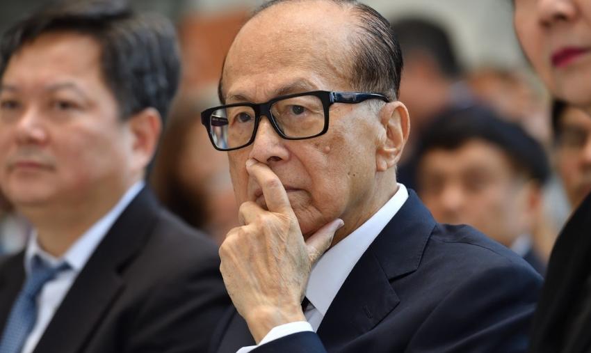 李嘉诚声明为何登广告:香港繁荣系于