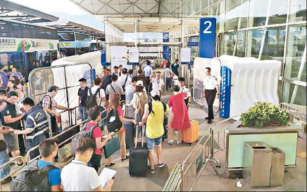 又有人号召扰乱机场 香港机管局:或构成藐视法庭