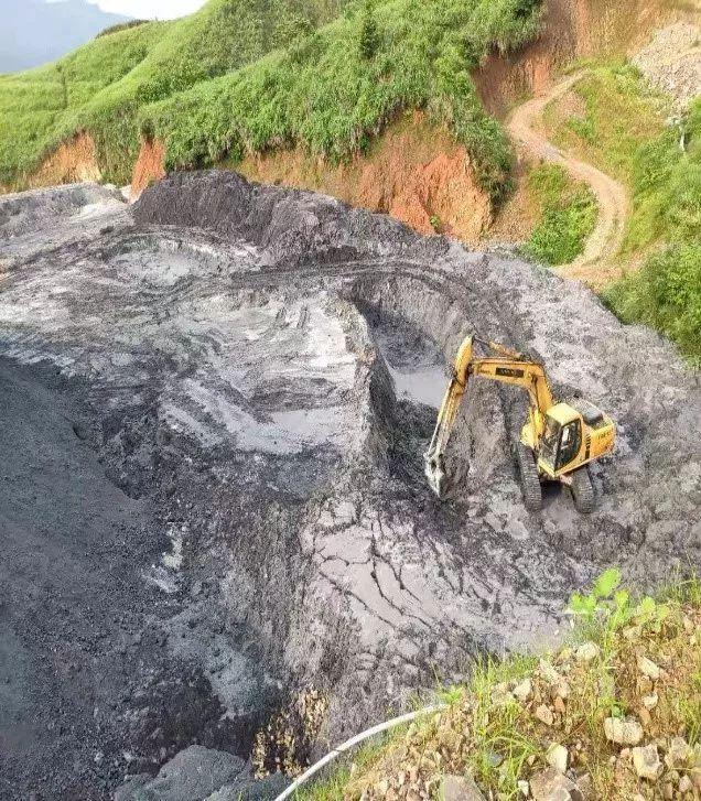 貴州天柱化工有限公司二期渣場。生態環境部 圖