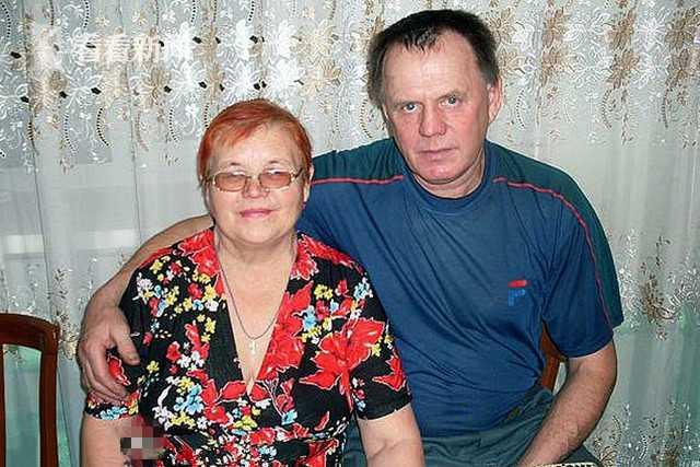 66岁外祖父维克多和69岁外祖母莉迪亚