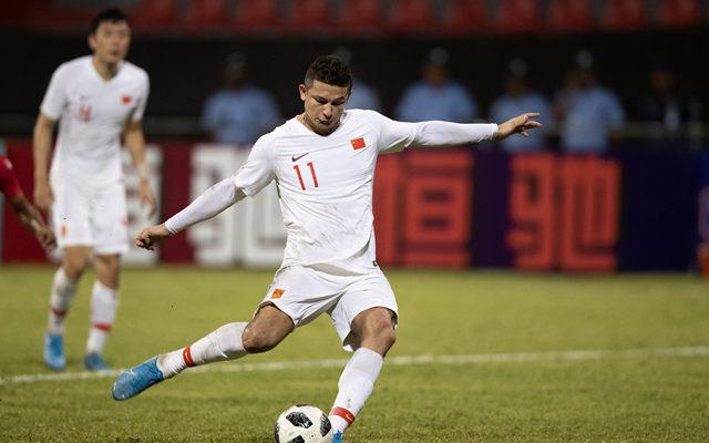 世预赛 国足5-0马尔代夫开门红