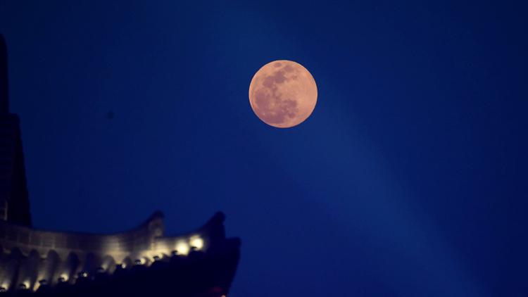 中秋赏月全攻略出炉 23点起迎最佳观月时间