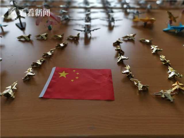 许树全折出的国产飞机编队