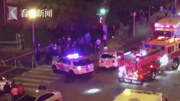 视频 美国华盛顿发生枪击案 6人中枪1人当场死亡