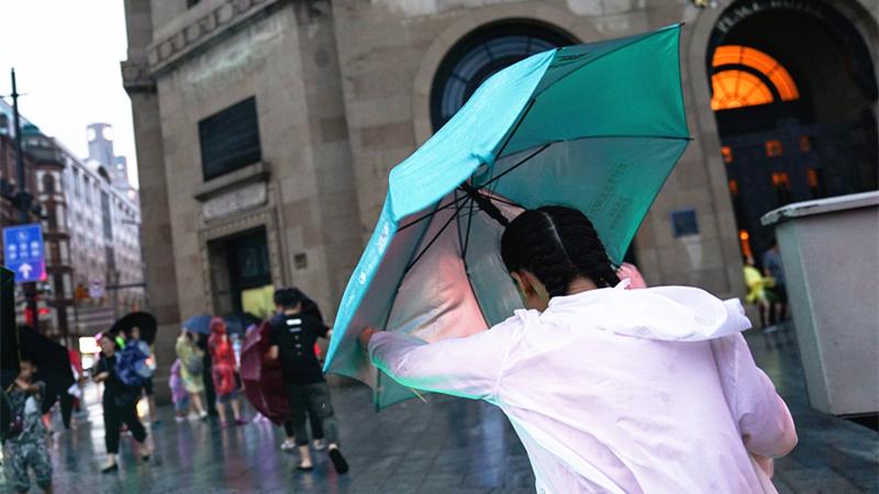 刚刚!上海发布台风蓝色预警!