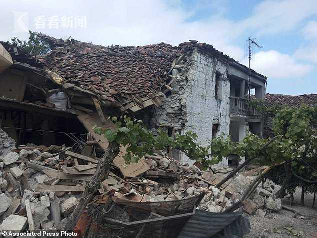阿尔巴尼亚地震