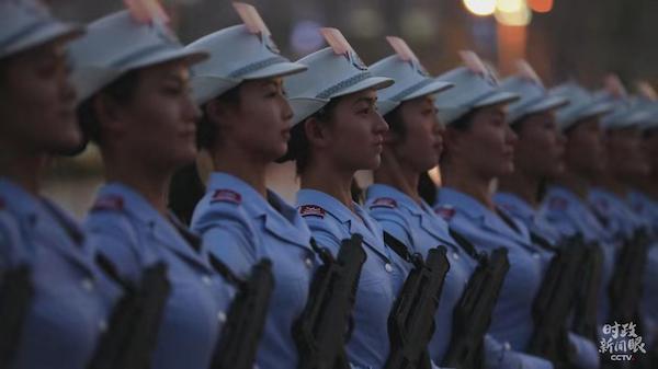 民兵方队。