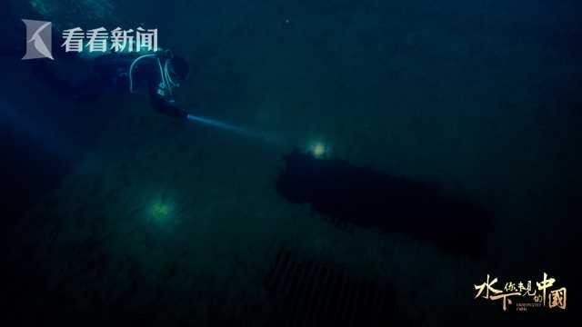 千岛湖水下一处保留较为完好的民居