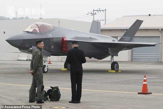 """F-35A""隐形战机"