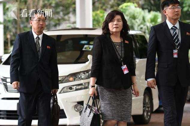 朝鲜外务省第一副相崔善姬