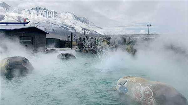 (西藏羊八井国家地质公园温泉服务区  摄影:蓝色天国)