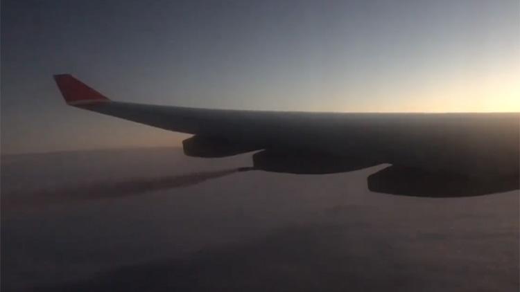 紧急备降!国际航班乘客突发疾病 疑空中放油30吨