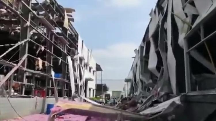 广西玉林一化工厂发生爆炸 已致4人死亡