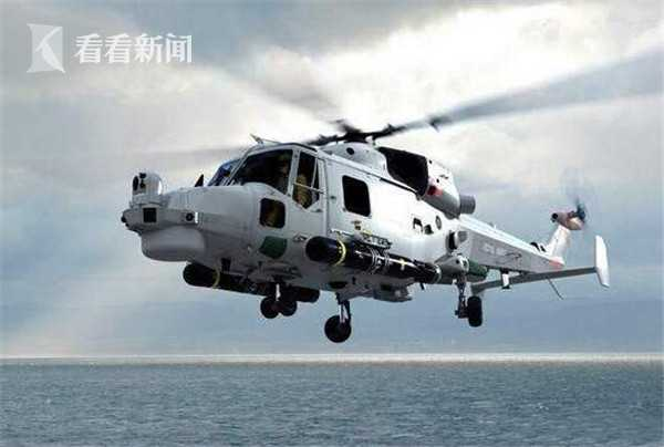 """美军MH-60R""""海鹰""""舰载直升机"""