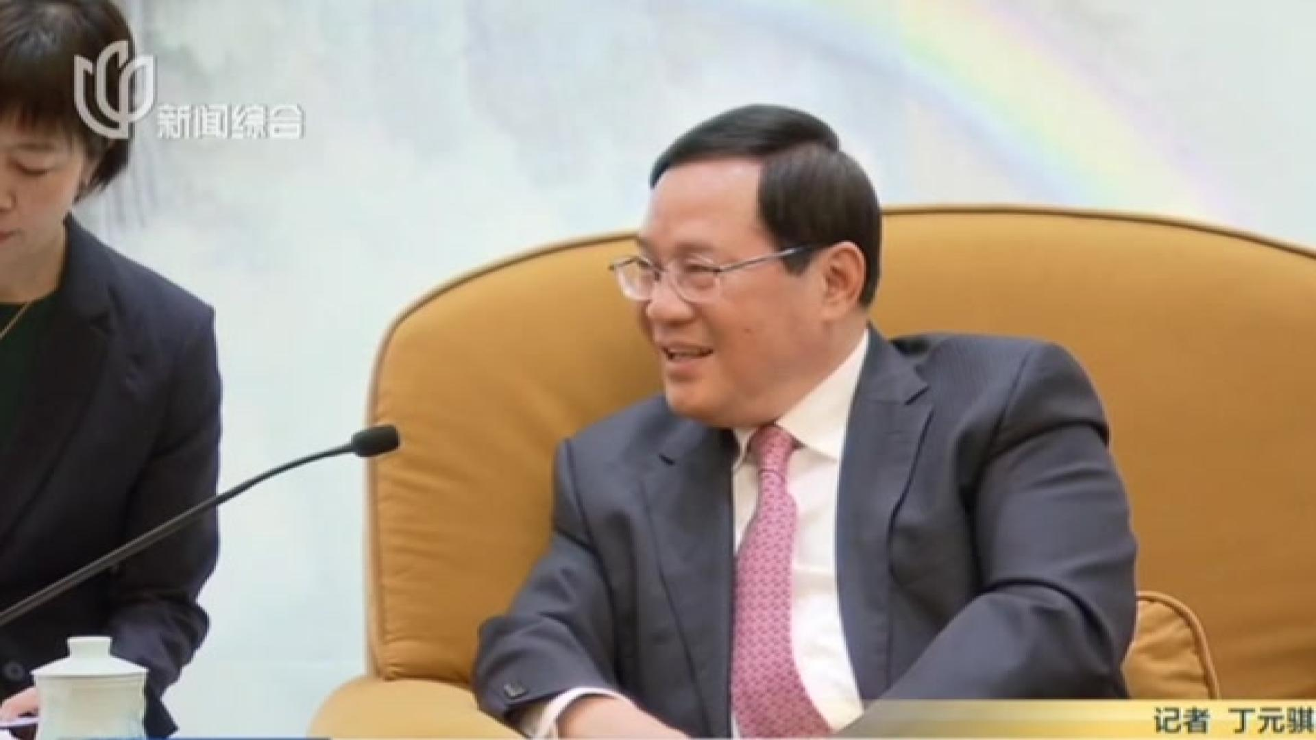 李强会见出席复旦管院国际顾问委员会会议委员代表
