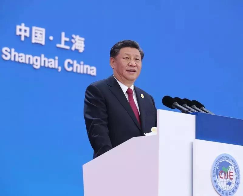 国家主席习近平出席开幕式并发表题为《开放合作 命运与共》的主旨演讲。