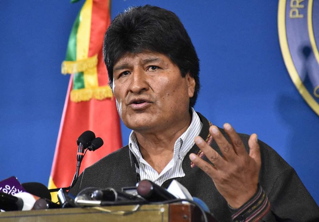 玻利維亞總統 莫拉萊斯