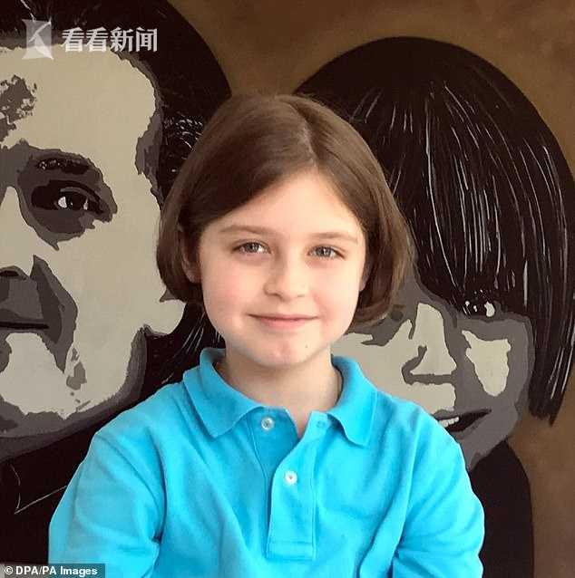 9岁神童劳伦・西蒙斯
