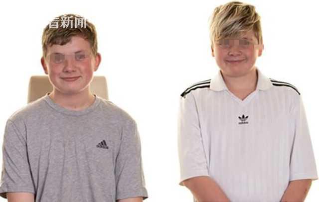 14岁布莱克和13岁特里斯坦