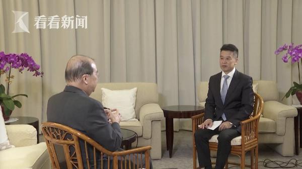 真人赌博ag客户端,视频|香港特区政府政务司司长:国家的支持是强心针