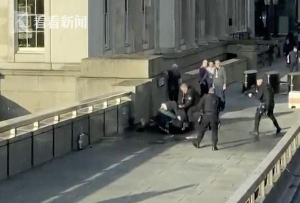 视频|伦敦桥发生恐怖袭击致3死 男子持刀伤人被击毙