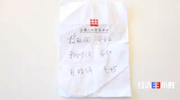 黄彬捏在手里的小纸条