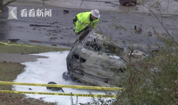 视频|两天两起!美国一架小型飞机冲入民宅致1人死亡