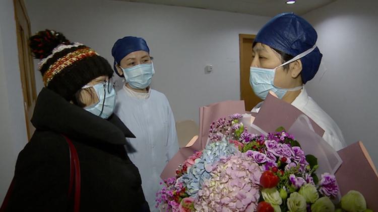 独家|上海首例新型肺炎患者确诊病患治愈出院