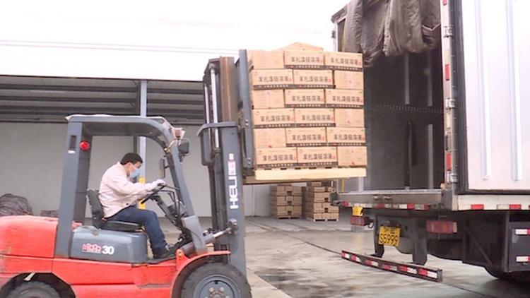 无偿捐赠!企业连夜清点库存 500箱消毒剂运武汉