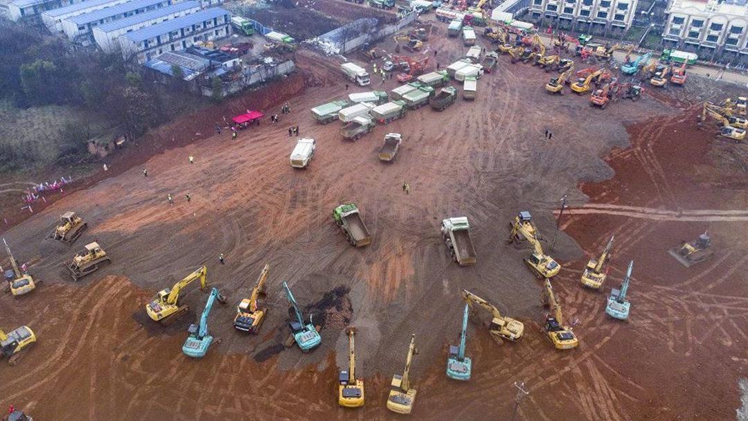 """武汉将再建一个""""小汤山""""医院 新增床位1300张"""