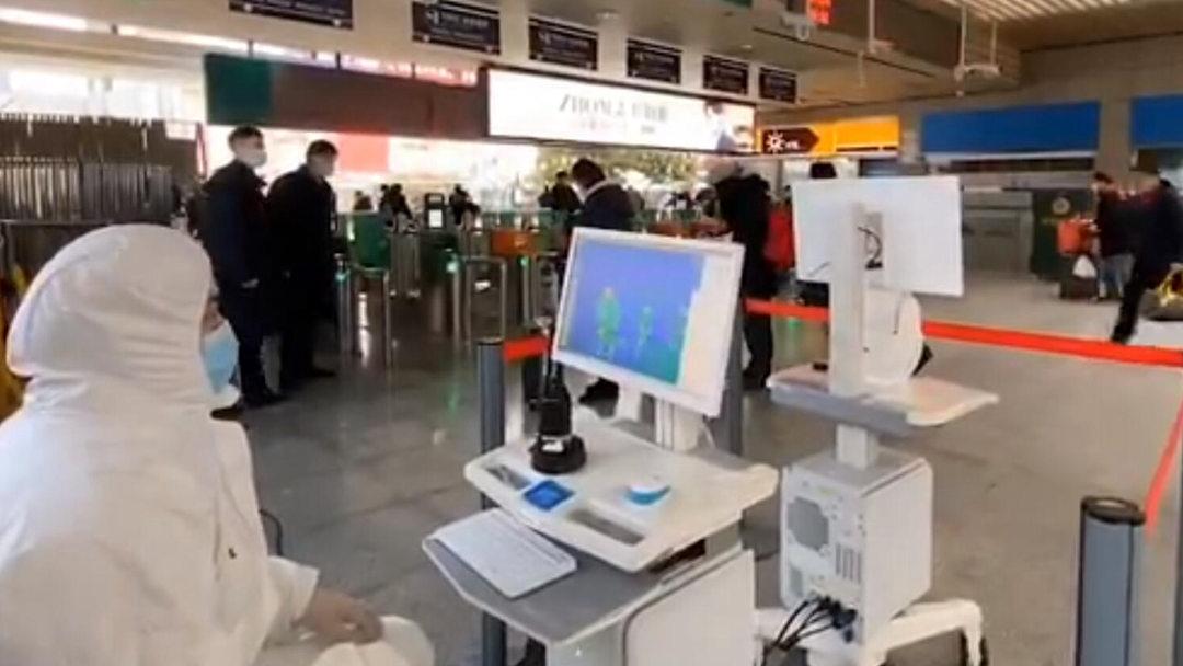 全国387个火车站开展进出站旅客测温筛