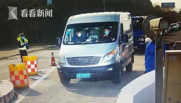 视频|网传一武汉男子搭车来沪 警方:现正隔离观察中