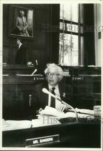 1991年 桑德斯在国会