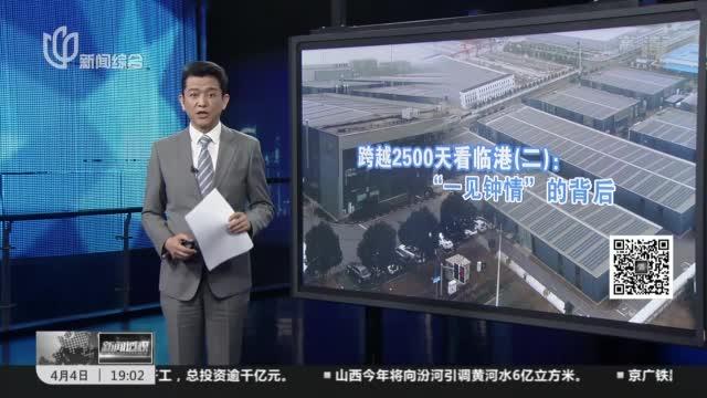 """新闻透视:跨越2500天看临港(二)——""""一见钟情""""的背后"""