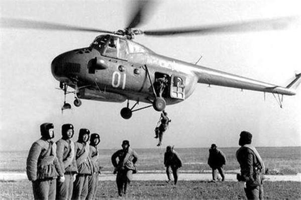 直-5直升机