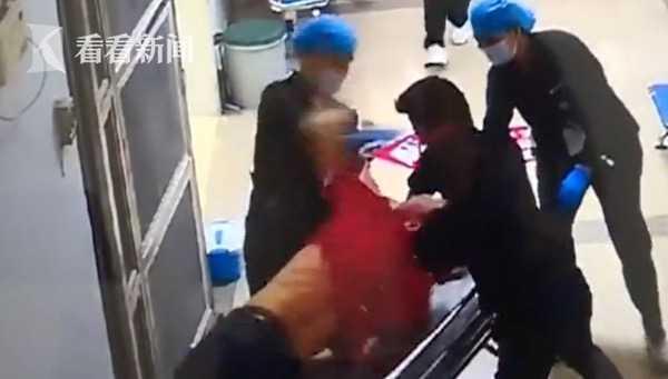 视频 刑拘!醉酒男子医院发酒疯 拳打护士还咬伤保安