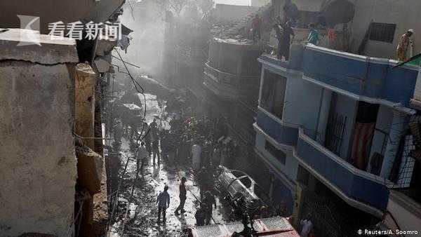 视频|巴基斯坦约100人客机坠毁 最后求救通话录音曝光