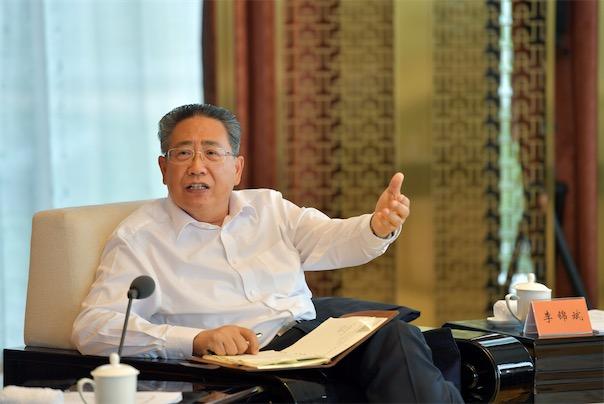 6月5日,2020年度长三角地区主要领导座谈会在浙江湖州举行,安徽省委书记李锦斌讲话。