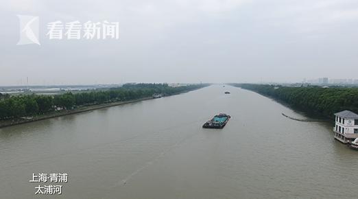 太浦河,上海青浦河段
