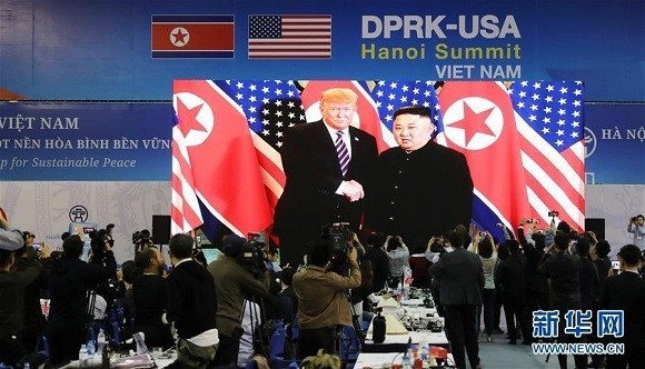 2019年2月27日 金正恩与特朗普在河内会面