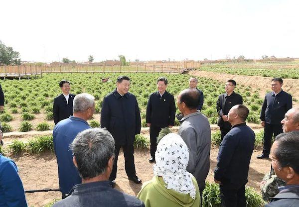 △2020年3月6日,习近平在北京出席决战决胜脱贫攻坚座谈会并发表重要讲话。