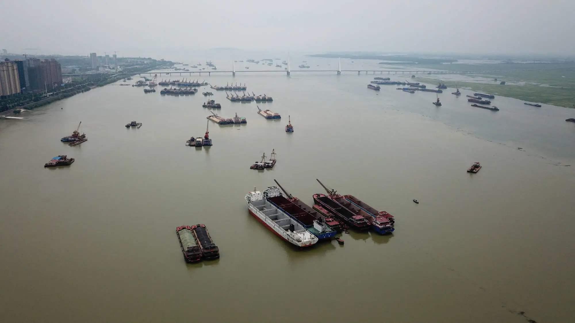 长江中下游干流水位持续上涨